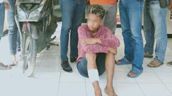 Dikejar Polisi, Maling Motor di Surabaya Ini Menyerah Setelah Ditinggal Rekannya