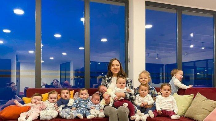 Sudah Punya 10 Anak, Mama Muda Ini Ketagihan Nambah Anak Lagi hingga 100, Siapkan Duit Segini