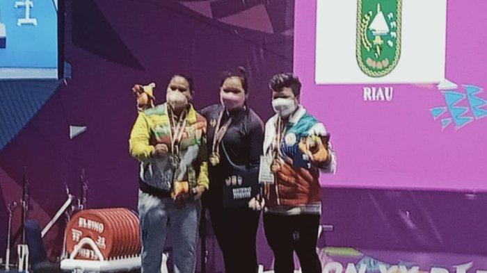 Atlet Angkat Berat Asal Kuningan Kembali Raih Medali Emas PON XX Papua, Pecahkan Rekor Nasional