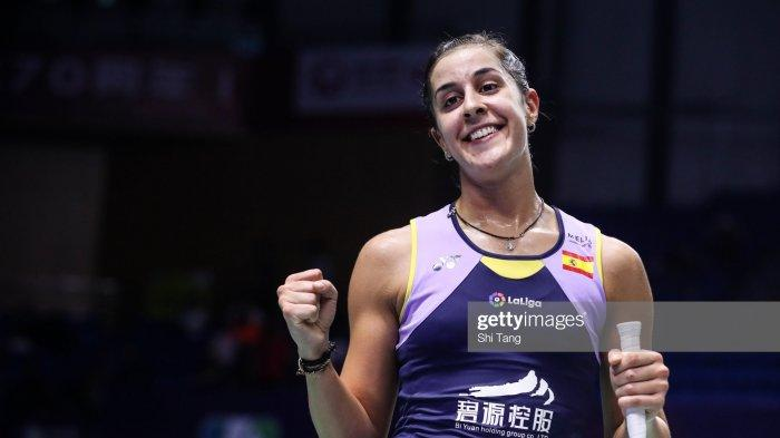 Kalahkan Wakil Tuan Rumah, Carolina Marin Melaju Ke Perempat Final Thailand Masters 2020
