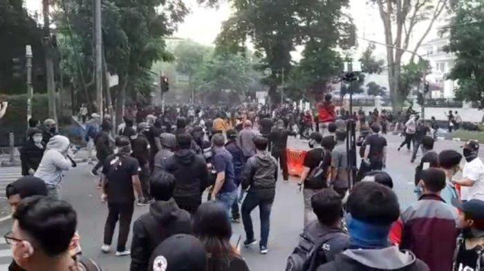 1.000 Orang Kelompok Anarko Ditahan Pascakerusuhan Demo Tolak Omnibus Law, Siapa Itu Anarko?