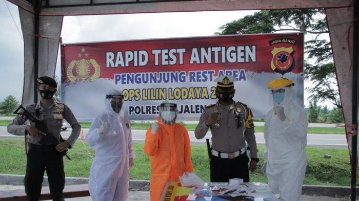 Sebelum Masuk Majalengka, Pemudik Natal dan Tahun Baru Wajib Rapid Test Antigen di Tol Cipali