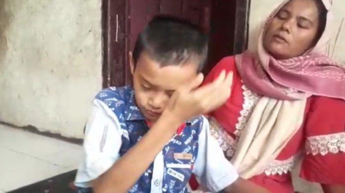 Kisah Fahri 14 Tahun di Sukabumi Menderita Kanker Mata hingga Tak Bisa Melihat, Ingin Sembuh