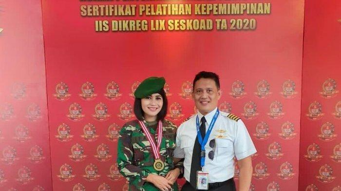 Kisah Mayor Ifa Lulus Sesko AD Didampingi Suami, Padahal LDR Jakarta-Houston Baru Ketemu Lagi