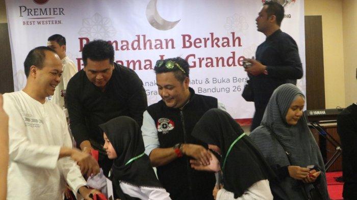 Komunitas Motor Besar Indonesia Buka Puasa Bersama Ratusan Anak Yatim