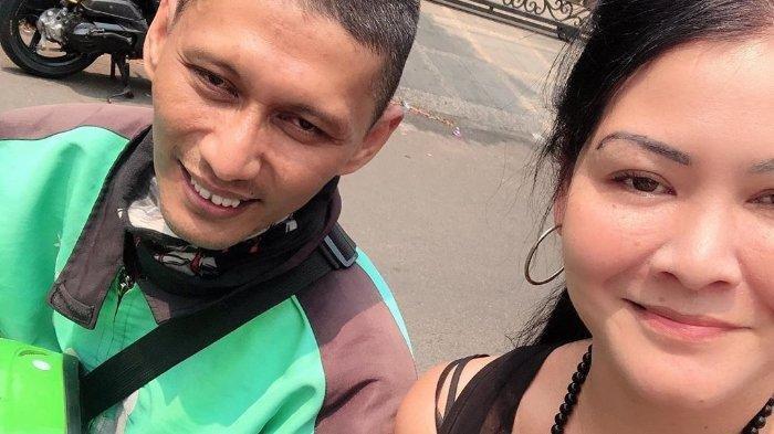 NAIK Ojek Online, Melanie Soebono Tak Sangka Drivernya Sempat Dia Tolong Hingga Kasus Sendal Jepit
