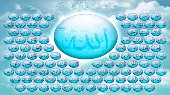 Zikir Asmaul Husna 99 Nama Allah Swt Dilengkapi Arti dan Fadhilah Masing-masing Nama
