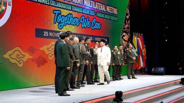 Menteri Pertahanan Prabowo Subianto: Waspada, Ada Pergerakan yang Mengancam Negara-Negara ASEAN