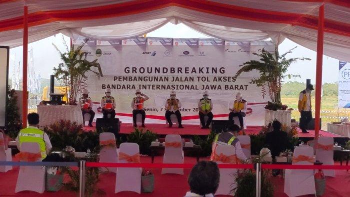 Menteri PUPR Lakukan Ground Breaking Pembangunan Jalan Tol Akses Bandara Kertajati Hari Ini