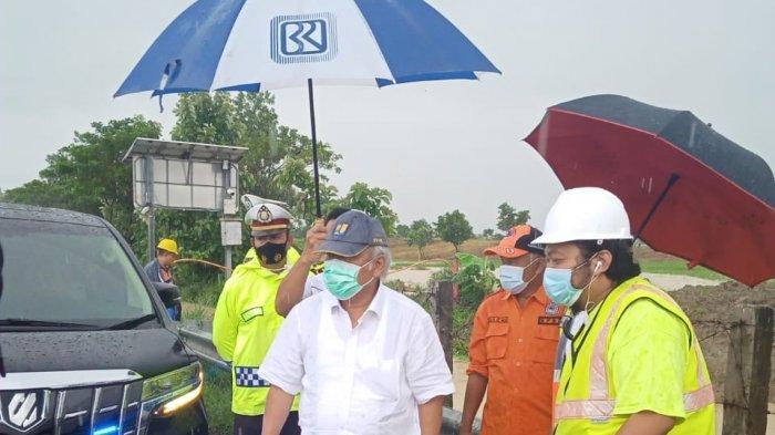 Menteri PUPR Tinjau Banjir Tol Cipali KM 136, Ini yang Akan Dilakukan Basuki Hadimuljono
