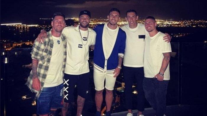 Diminta Neymar Gabung PSG, Foto Ini Kode Kemana Lionel Messi Akan Merapat Usai Keluar dari Barcelona