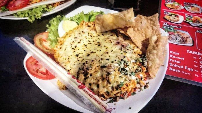 Pecinta Makanan Pedas Wajib Coba Nih Mi Setan Mozarella Kornet Level 5, Pedasnya Nampol!