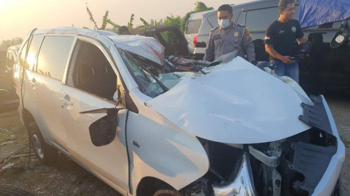 Kecelakaan di Tol Cipali, Minibus Tabrak Belakang Mobil, 2 Orang Luka-luka