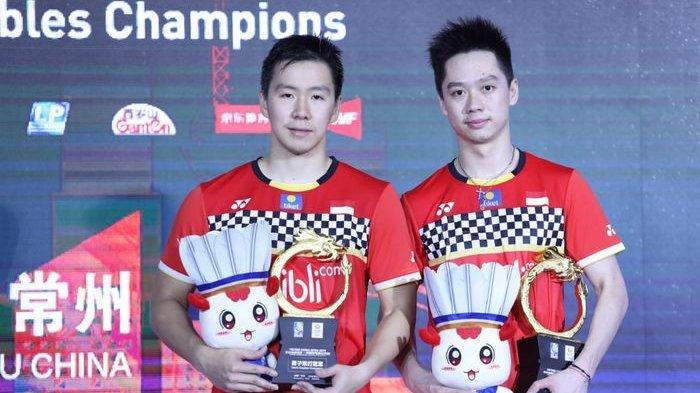 Masih Jadi Peringkat Nomor 1 Dunia, Marcus Fernaldi Gideon/Kevin Sanjaya Sukamuljo Pecahkan Rekor