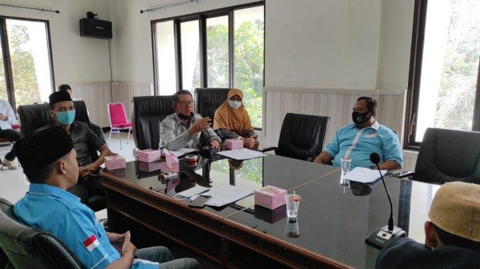 Minta Jadi Daerah Layak Pemuda, DPD KNPI Majalengka Audiensi dengan Anggota Legislatif
