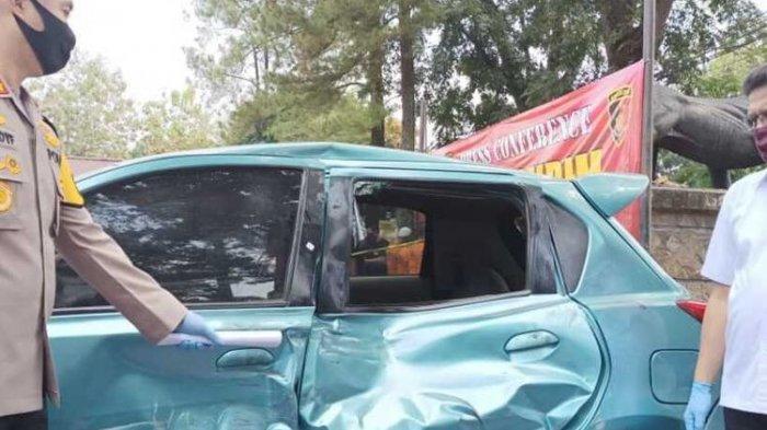 Tak Terima Ditegur Karena Ugal-ugalan, Pengendara Mobil Tabrak Polisi Sampai Meninggal