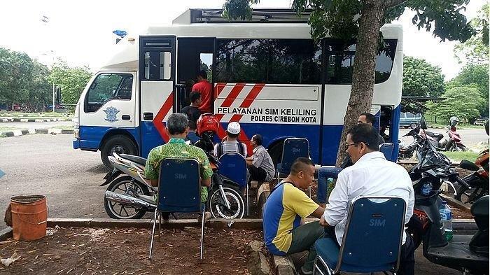 Layanan SIM Keliling Polres Cirebon Kota, Selasa 10 Desember 2019