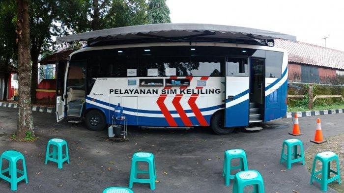 Layanan SIM Keliling Polres Cirebon Kota, Sabtu 22 Agustus 2020