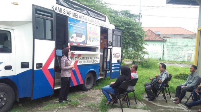 Layanan Mobil SIM Keliling Kabupaten Majalengka Ada di Lokasi Ini, Senin 14 September 2020