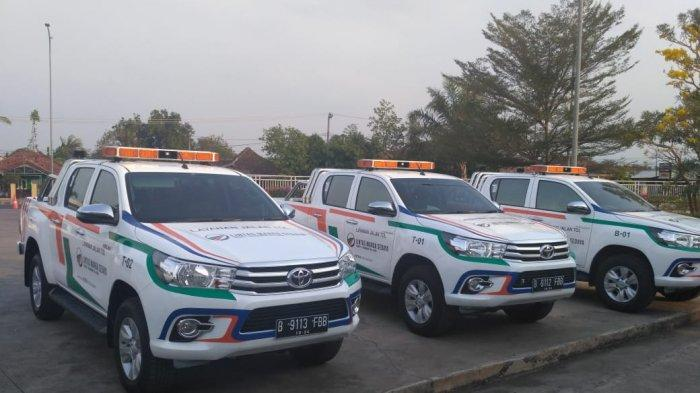 PT LMS Perbarui Kendaraan Operasional di Tol Cipali, Dari Mobil Patroli Hingga Ambulans