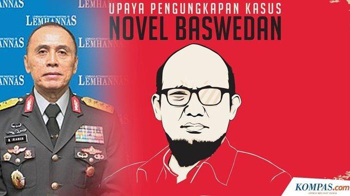 KESAKSIAN Novel Baswedan di Depan Hakim Soal Kasus Penyiraman Air Keras, Berani Sebut Nama Iwan Bule