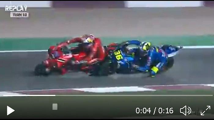 Fabio Quartararo Asapi Johann Zarco dan Jorge Martin, Rossi di 5 Terakhir Ini Hasil MotoGP Doha 2021
