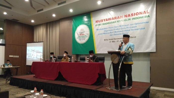 Momentum Hari Lahir Pancasila 1 Juni Ditetapkan Jadi Hari Lahir Organisasi Guru Madrasah Indonesia
