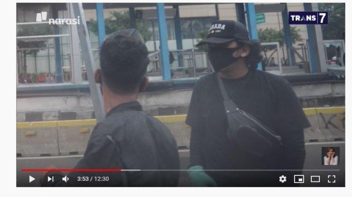 Najwa Shihab Tunjukkan Foto Terduga Pelaku Pembakaran Halte Sarinah, Siapakah Pria Gempal Ini?