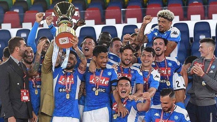 Hasil Liga Italia, Juventus Kalah dari Napoli, Laga spesial Giorgio Chiellini Berakhir Tragis