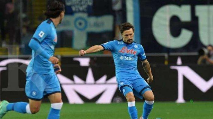 Hasil Liga Italia Udinese vs Napoli, Partenopei Bekuk Zebrette dengan skor 4-0, ke Puncak Klasemen