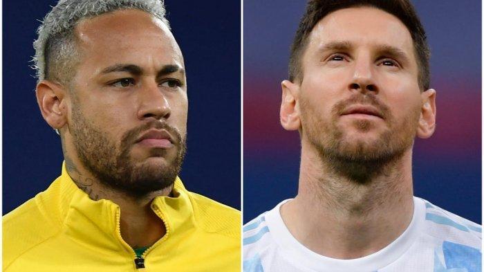 Argentina Juara Copa America 2021: Lionel Messi Bahagia, Neymar Menangis Gagal Bawa Menang Brasil