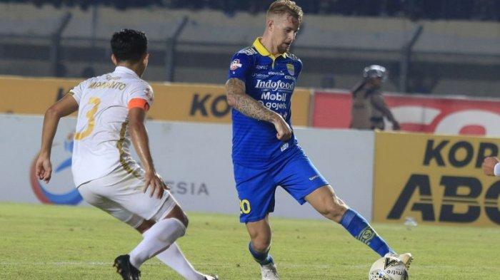 Nick Kuipers Ingin Cetak Gol Lebih Banyak Untuk Persib Bandung, Nantikan Berhadapan Dengan Platje
