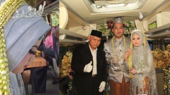 Viral Warga Boyolali Nikah di Dalam Bus, Berawal dari Resepsi Pernikahan Batal karena PPKM Darurat