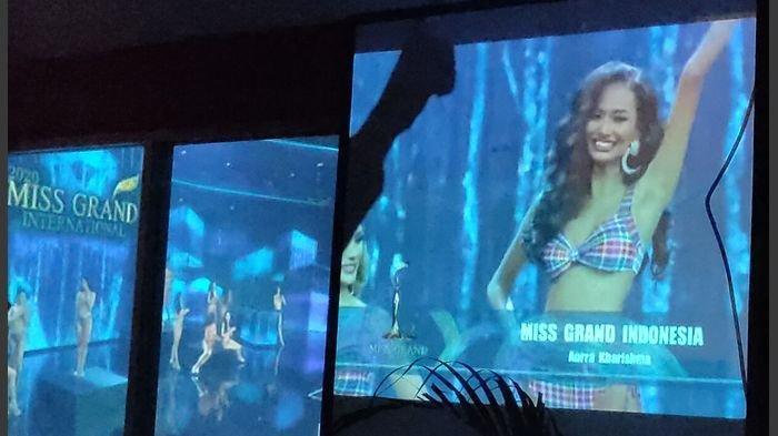 NOBAR Miss Grand International di Majalengka, Heboh Dukungan Saat Nama Aura Kharisma Dipanggil