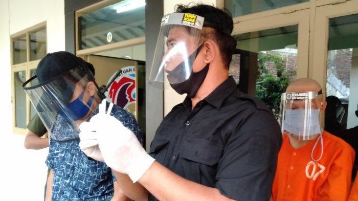 Oknum Honorer Dishub Kota Tasikmalaya Disergap Polisi Saat Bertransaksi Sabu-sabu
