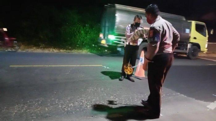 Pemotor Korban Tabrakan dengan Mobil Boks di Jalur Nasional Kuningan Meninggal di RS Linggajati