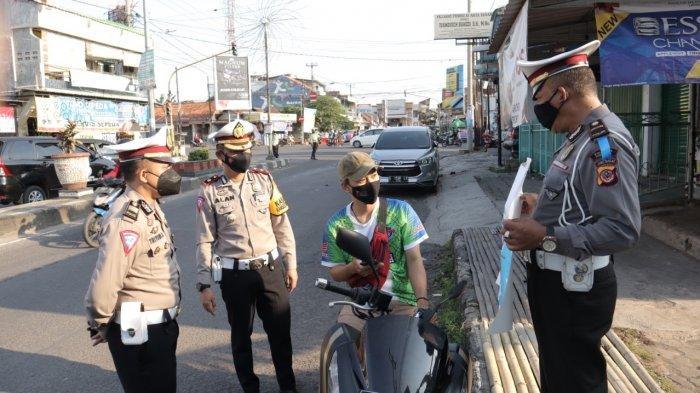 Tidak Ada Tilang pada Operasi Patuh Lodaya 2021 di Cirebon, Polisi Utamakan Tindakan Humanis