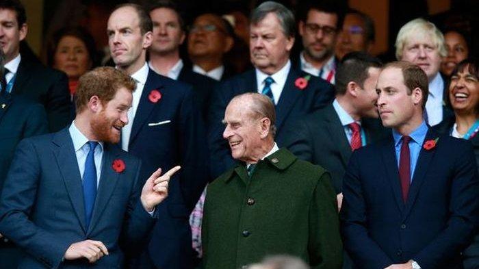 Pangeran Harry & William Bertemu, Diminta Jalan Terpisah di Belakang Peti Pangeran Philip, Kenapa?