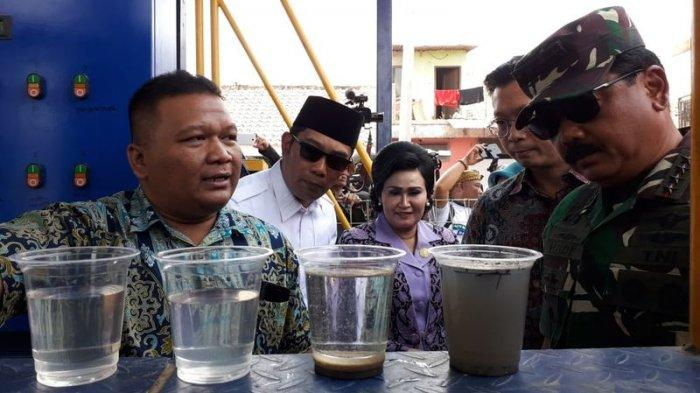 Panglima TNI Marsekal Hadi Berani Minum Air Citarum Hasil Penyulingan, Rasanya Seperti Air di Rumah