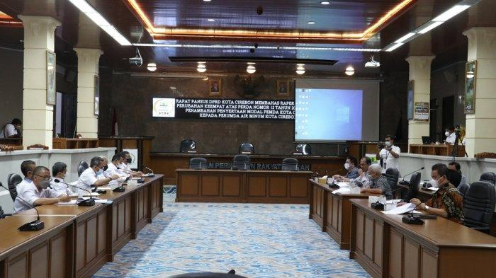 Bahas Penyertaan Modal, DPRD Kota Cirebon Ingatkan Perumda Air Minum untuk Tekan Tingkat Kebocoran