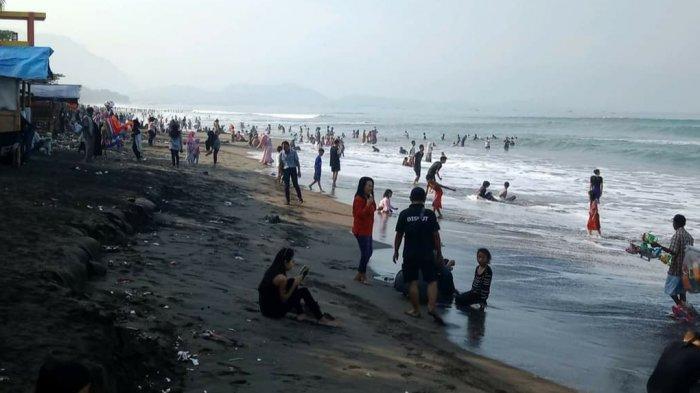 3 Wisatawan Terseret Arus Pasang Pantai Kebon Kalapa, Untung Diselamatkan Balawista, Kondisi Kritis