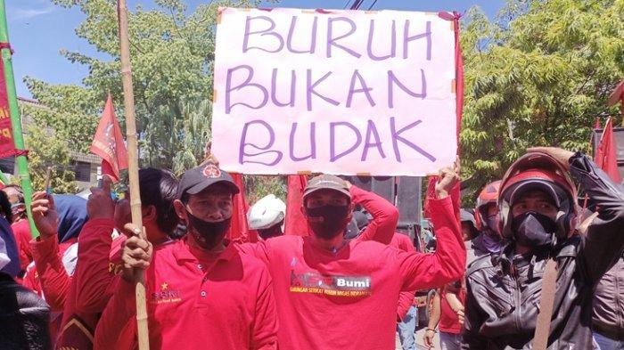 Audiensi Pembahasan UMK Indramayu 2021 Deadlock, Buruh Tetap Tak Setuju, Kenaikan Hanya Rp 75 Ribu