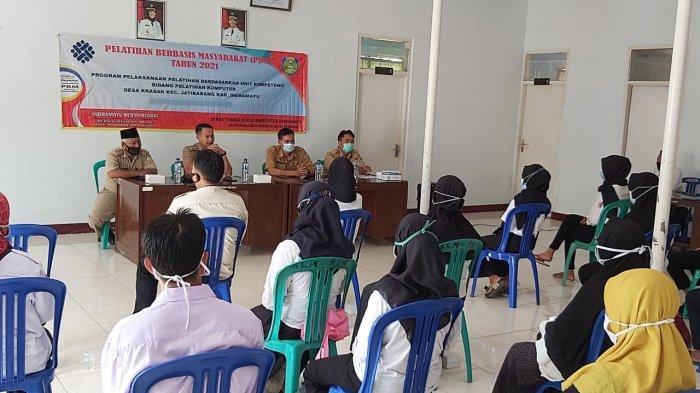 Para Mantan TKI di Indramayu Mendapat Pelatihan Komputer, Diharapkan Bisa Lebih Memiliki Daya Saing