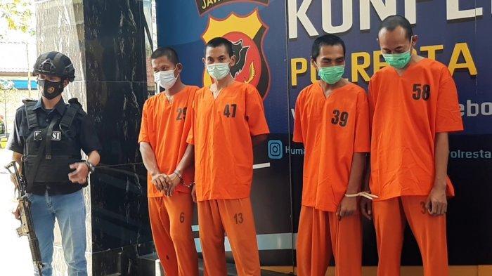 Lima Tersangka Judi Togel Diciduk Satreskrim Polresta Cirebon, Mulai dari Pemasang hingga Pengepul