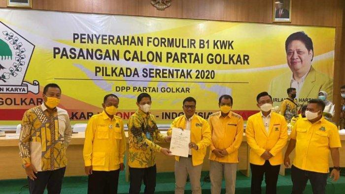 Golkar Berikan Rekomendasi Pada Pasangan Daniel M Syafiuddin-Taufik Hidayat di Pilkada Indramayu