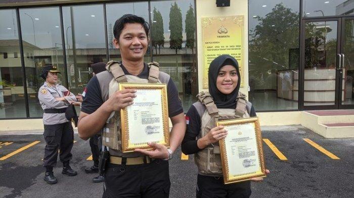 Pasangan Polisi Ini Lagi Pacaran, Langsung Beraksi Begitu Melihat Pelaku Penembak Sopir Taksi