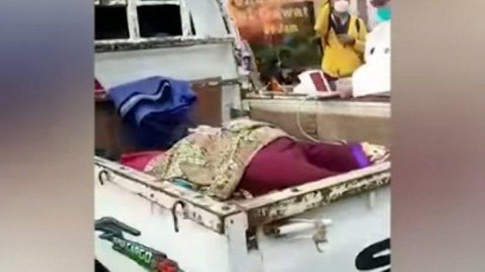 MIRIS, Pasien Covid-19 Terbaring di Pikap, di Parkiran RSUD Kota Bekasi, Videonya Viral di Medsos