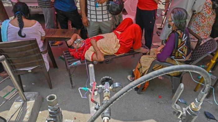 Covid-19 Kian Mengganas di India, Bikin Rekor 400 Ribu Kasus Sehari, Dalam 24 Jam 4.000 Orang Tewas