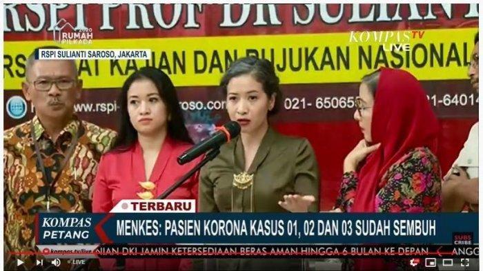 Pasien Kasus 1, 2, dan 3 Dipastikan Sembuh Total, Mereka Dapat Jamu Racikan dari Presiden Jokowi