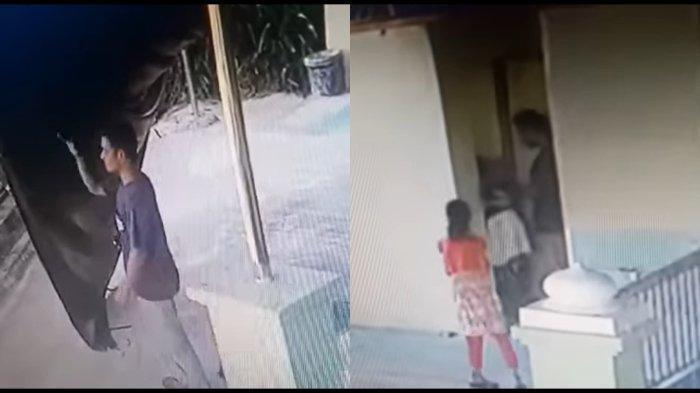 VIRAL VIDEO Pria Pedofil Beraksi Di Kamar Mandi Tempat Ibadah,Terekam CCTV, Korban Bocah Perempuan